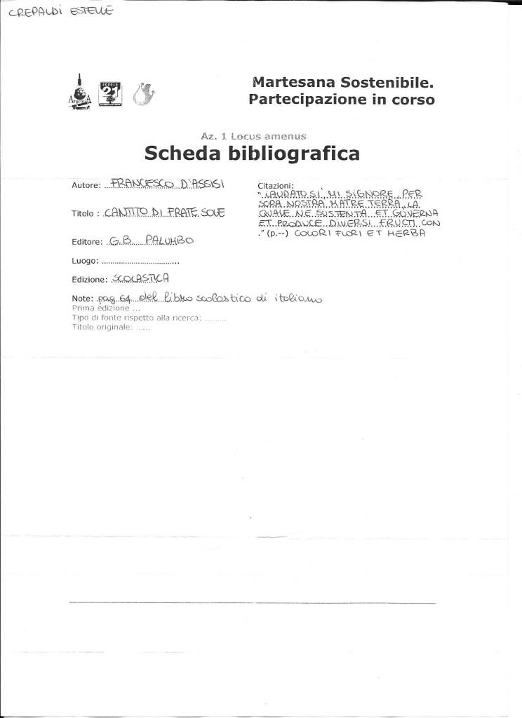 scheda bibliografica