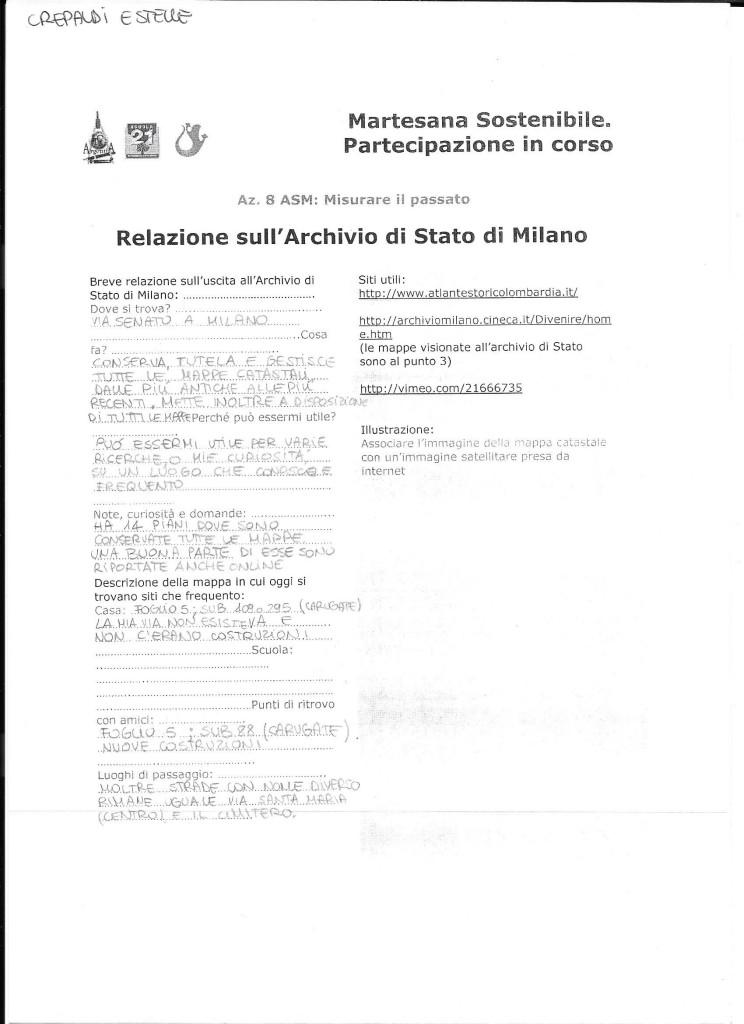 Relazione Archivio di Stato